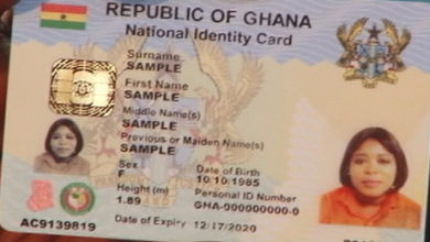 Photo of Foreigners to pay $120 for non-citizen Ghana Card