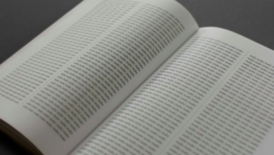 Photo of Entire Bible rewritten alphabetically to allow for 'new and interesting interpretations'