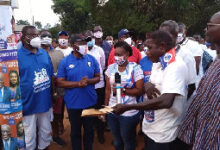 Photo of Ken Ofori-Atta commissions rural electrification project at NDC strongholds