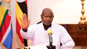 Photo of Museveni talks tough after election win