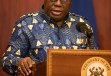 Photo of 'Thank you for your service' – Akufo-Addo's last words to Domelevo as he retires