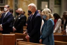 Photo of Biden's National Day of Prayer proclamation excludes the word 'God'