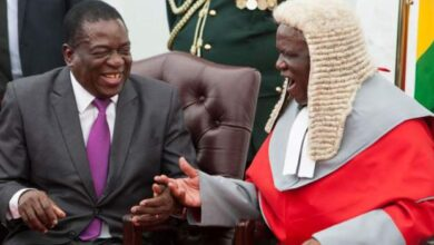 Photo of Zimbabwe high court forces out chief justice
