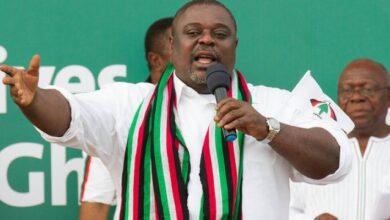 Photo of NDC sacks Koku Anyidoho