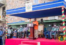 Photo of President Akufo-Addo tours Central Region